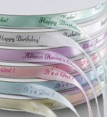 Imprinted ribbons